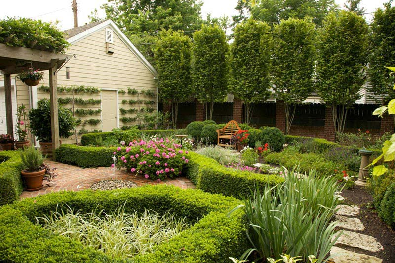 Backyard-Flower-Garden-Designs