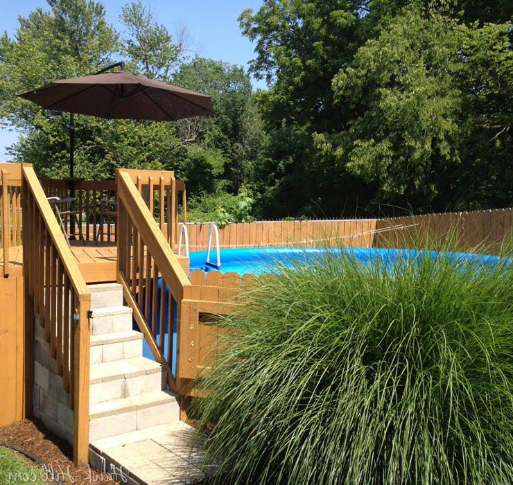 Inexpensive landscaping ideas for backyard landscape design Cheap pool landscaping ideas