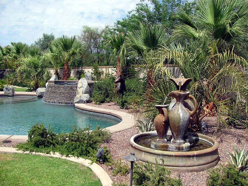 Outstanding desert landscape design for the perfect for Palm springs landscape design