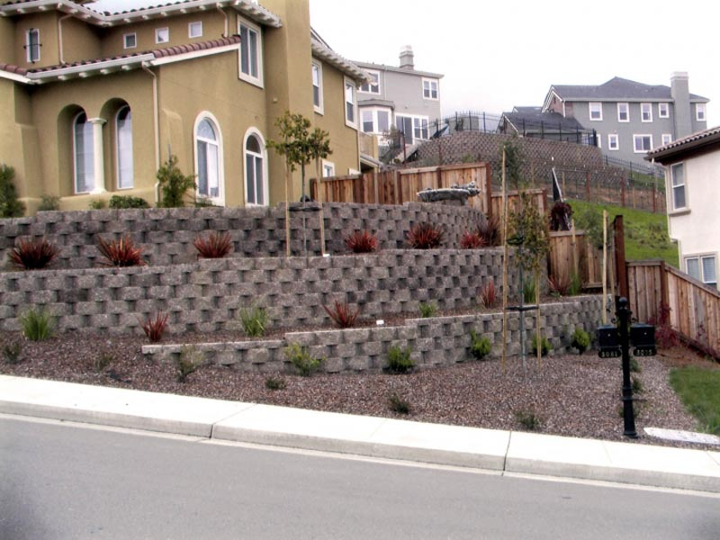 example of retaining wall design - Retaining Wall Design Examples