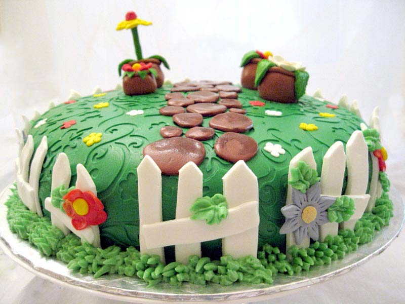 Flower-Garden-Cake-Ideas