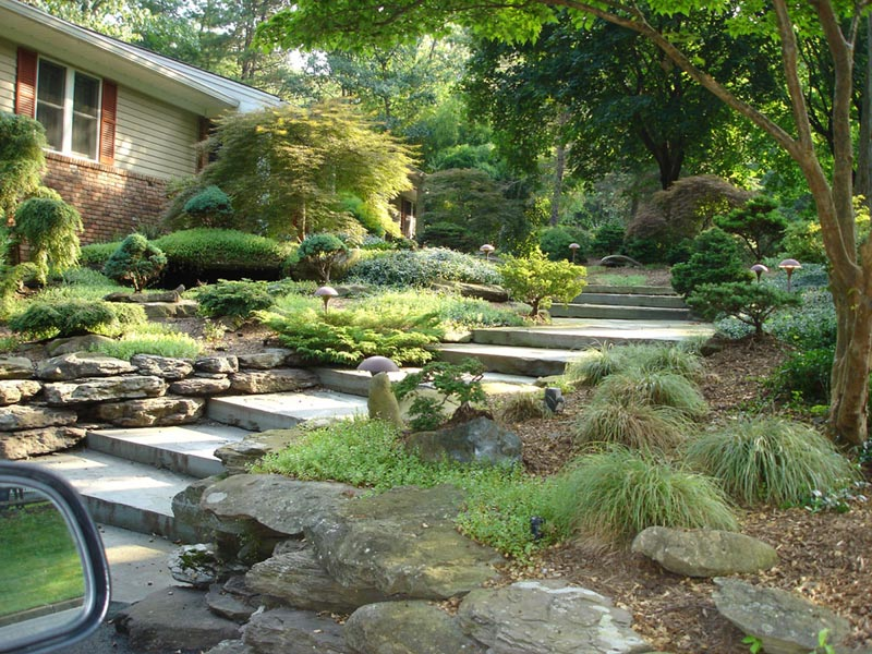tiny front yard inexpensive landscaping ideas for small front yard landscape design