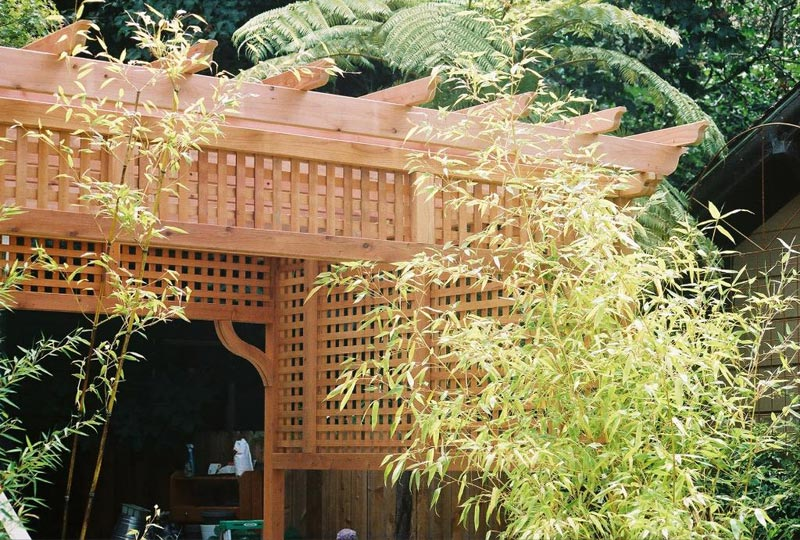 Japanese garden design landscape design for Japanese garden trellis designs