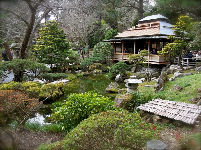 Japanese garden gate design landscape design for Japanese tea garden hours