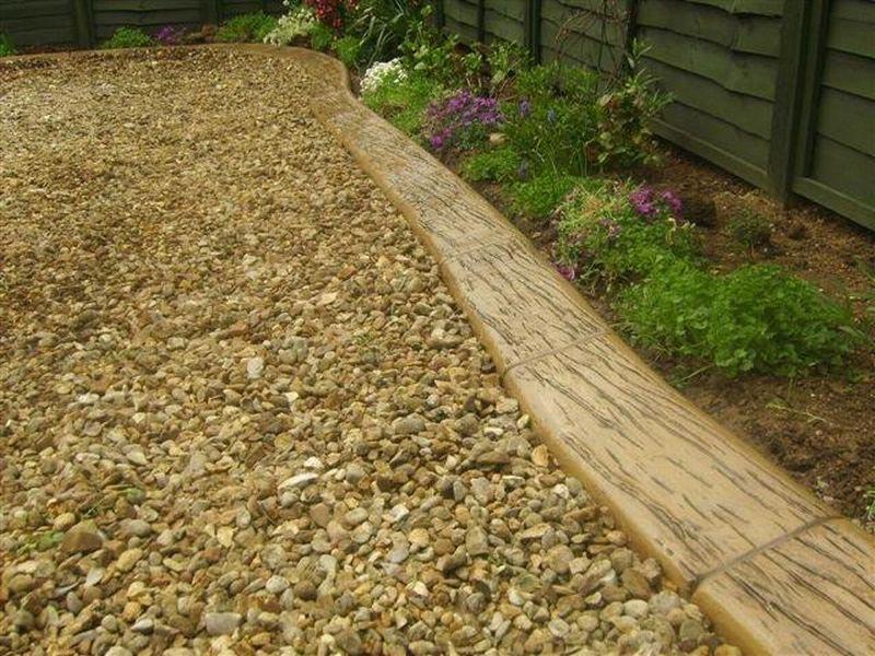 Cheap edging ideas for landscaping landscape design for Landscape edging