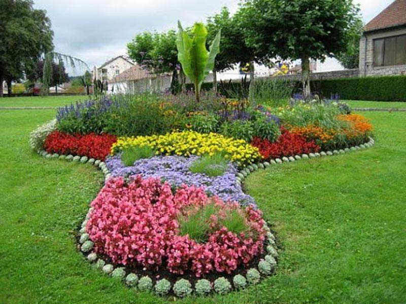 Cheap edging ideas for landscaping landscape design for Cheap easy landscape edging