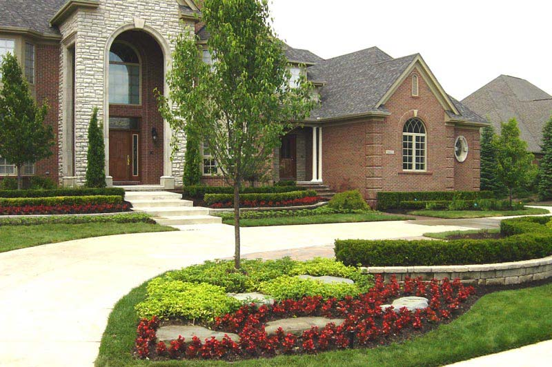 Landscaping ideas for front yard corner lot landscape design for Large lot landscaping ideas