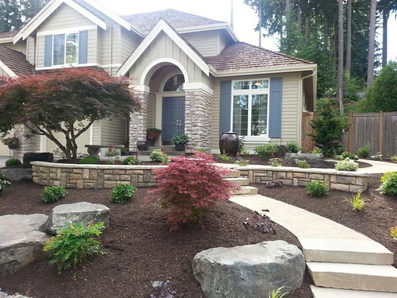 Landscaping-Ideas-For-Front-Yard-Retaining-Wall