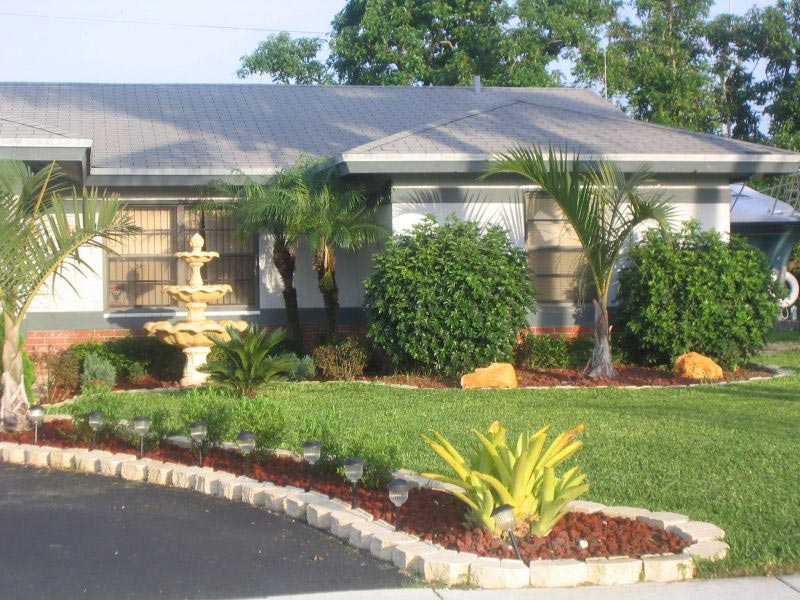 Landscaping Ideas For Front Yard South Florida Landscape