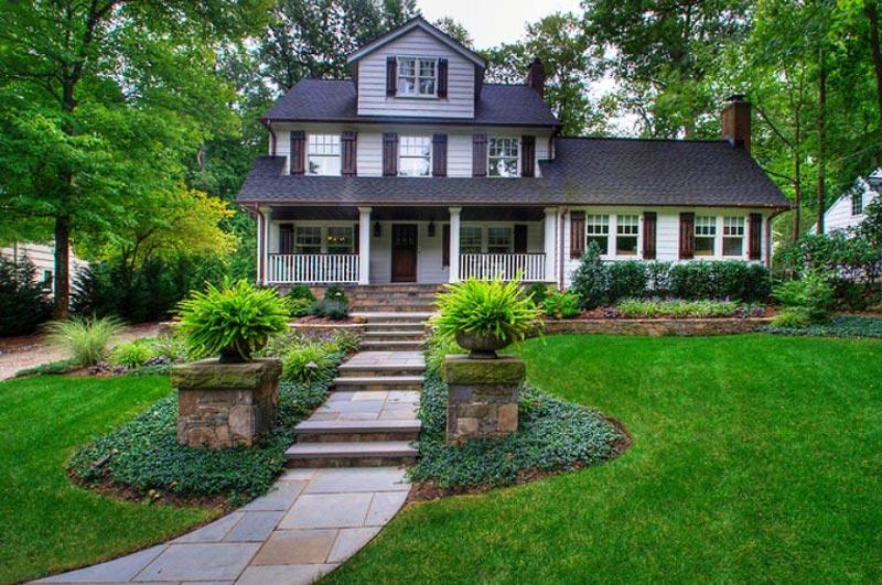 Landscaping-Ideas-For-Front-Yard-With-Slope | Landscape Design