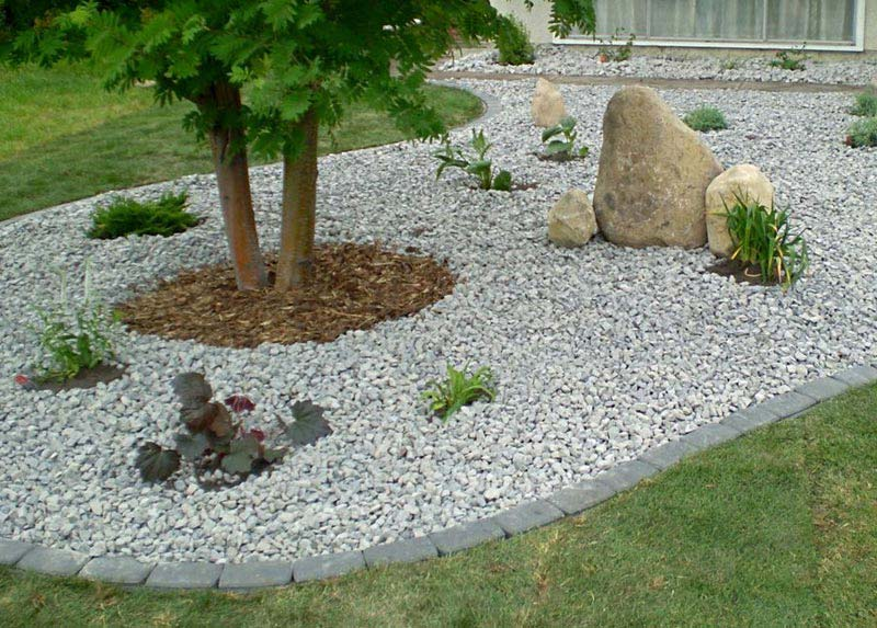 White Granite Landscaping Rock : Landscaping stones what are the most frequently used