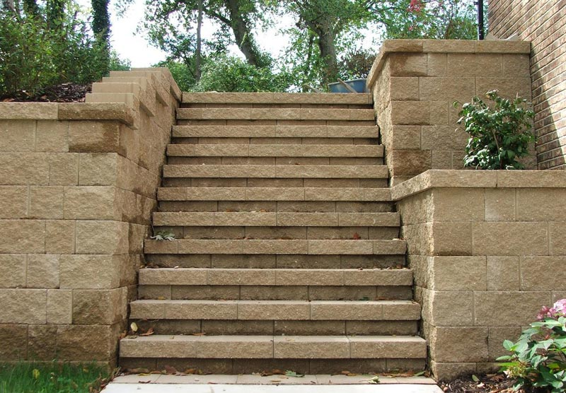 Retaining Wall Blocks Walmart Landscape Design
