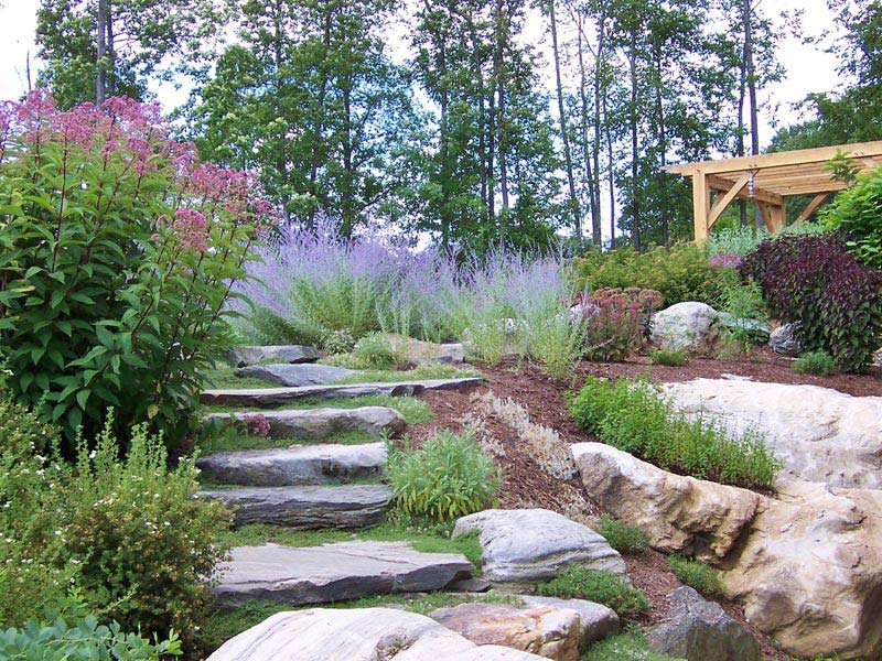 Sustainable landscape design queens landscape design for Sustainable landscape design