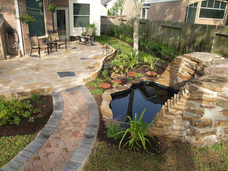Backyard landscaping ideas el paso tx landscape design for Small patio landscaping