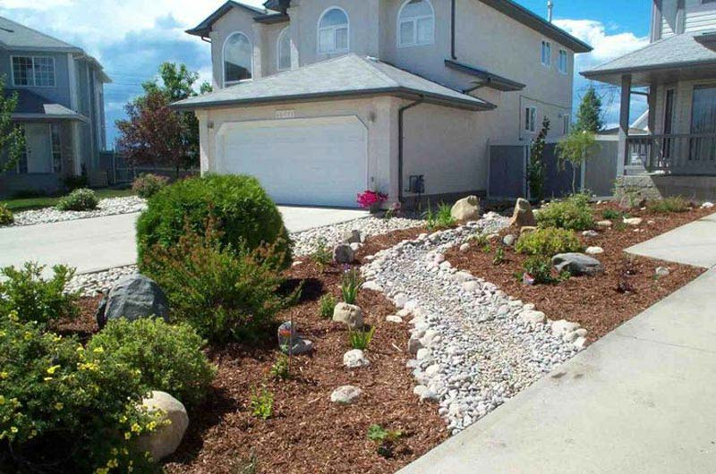 Front yard landscaping ideas pinterest landscape design for Garden design xeriscape
