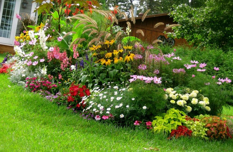 Small-Front-Yard-Flower-Bed-Ideas
