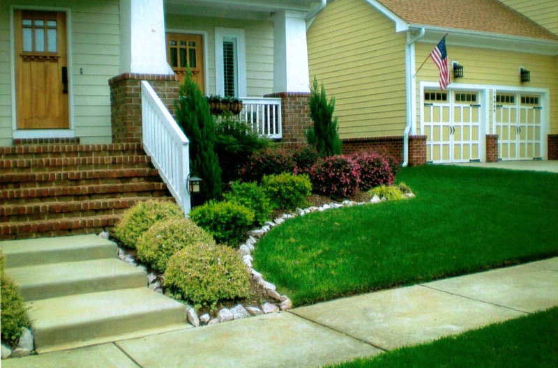 Front Garden Ideas On A Budget 42 diy ideas to increase curb appeal Small Front Yard Landscaping Ideas On A Budget