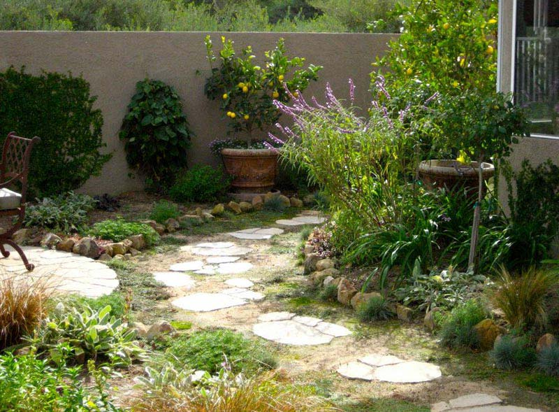 Landscaping-A-Narrow-Side-Yard