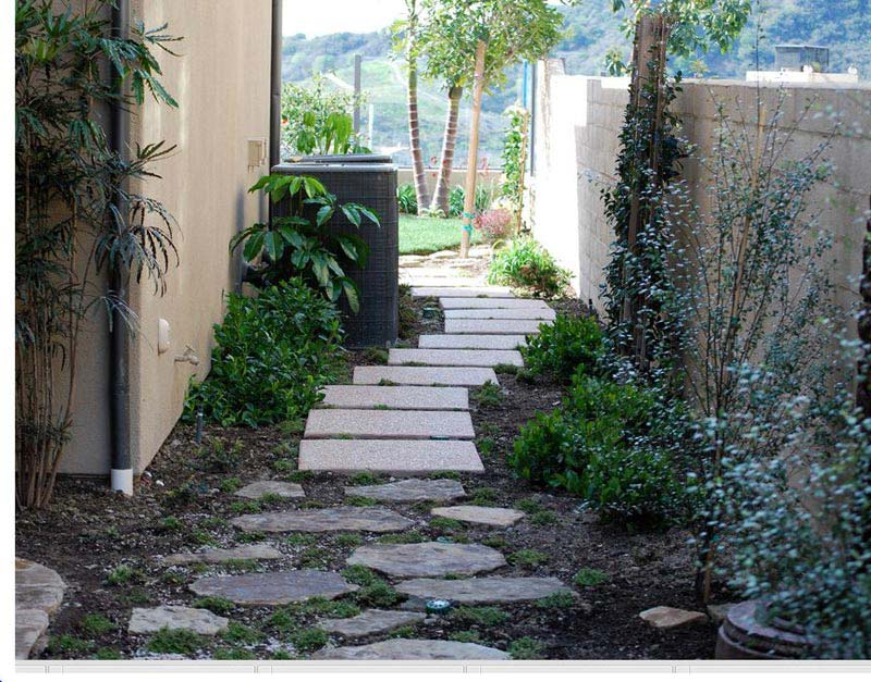 Landscaping-A-Side-Yard