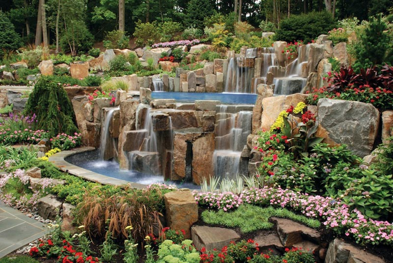 Pool-Waterfall-Landscape-Design
