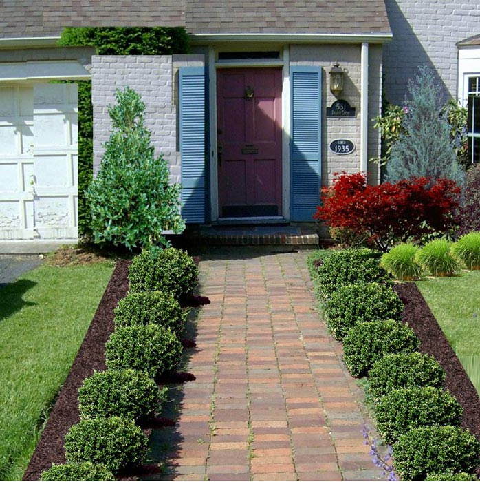 Landscaping-Walkway-To-Front-Door