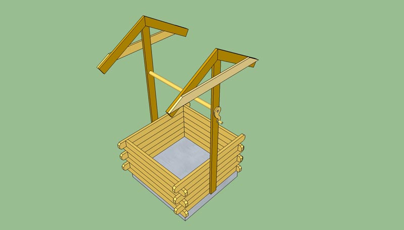 wishing-well-planter-plans-free