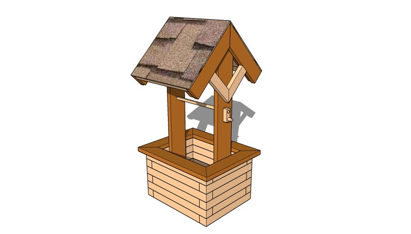 wishing-well-planter-plans