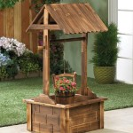 wooden-garden-wishing-well-planter