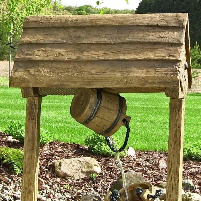 wishing-well-fountain-wooden-water-feature