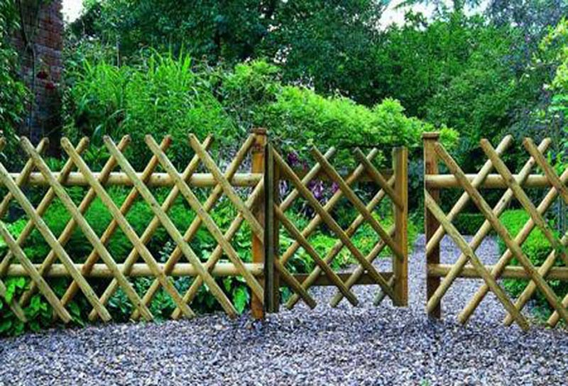Cheap Garden Fence Designs Landscape Design