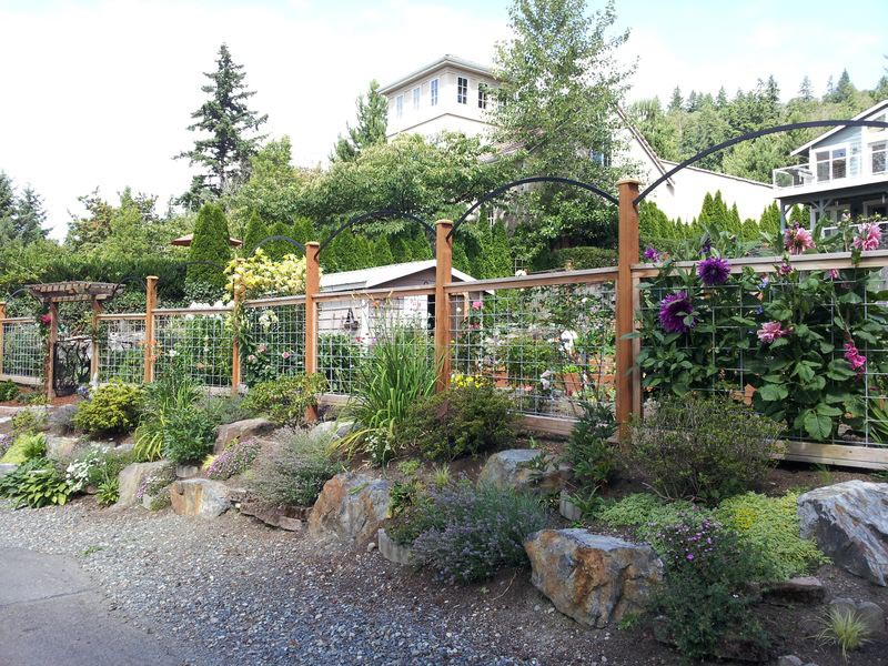 Deer Proof Garden Fence Designs