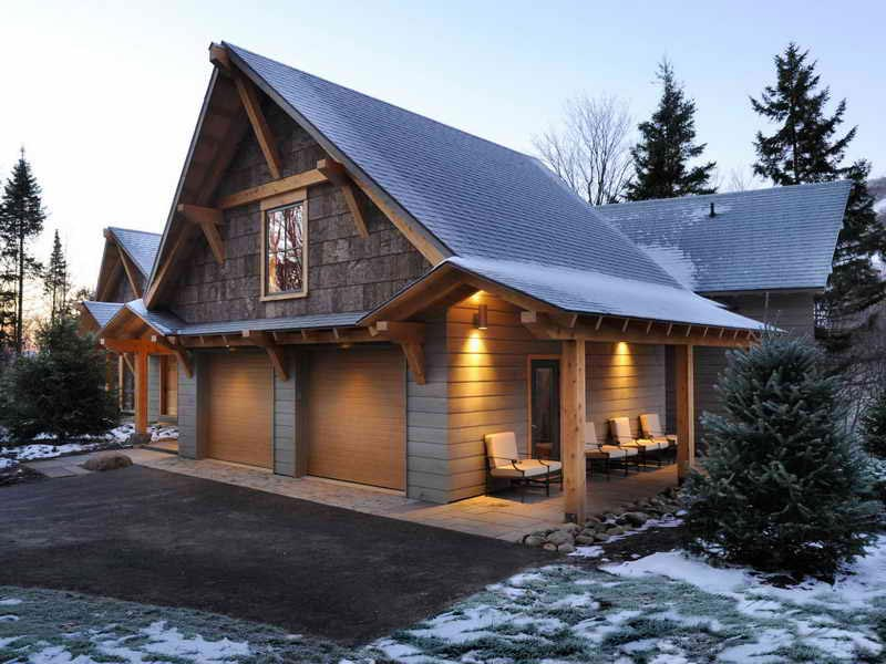 Cabin-style-homes