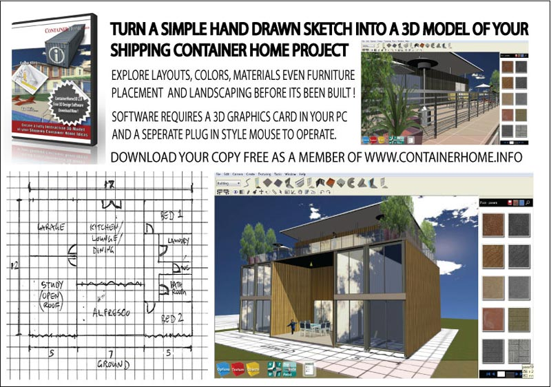 Container home designs modern and simple variants for Container house design software
