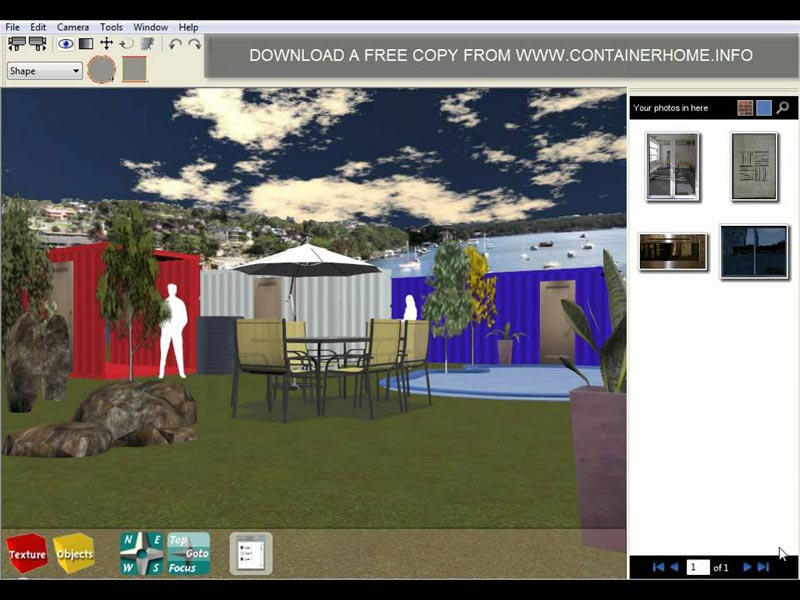 Container home designs modern and simple variants for Container design software