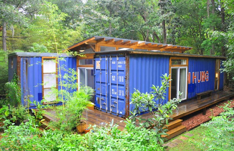 container home designs book