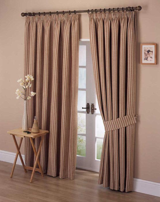 Log cabin curtains drapes landscape design for Curtains and drapes for bedroom ideas