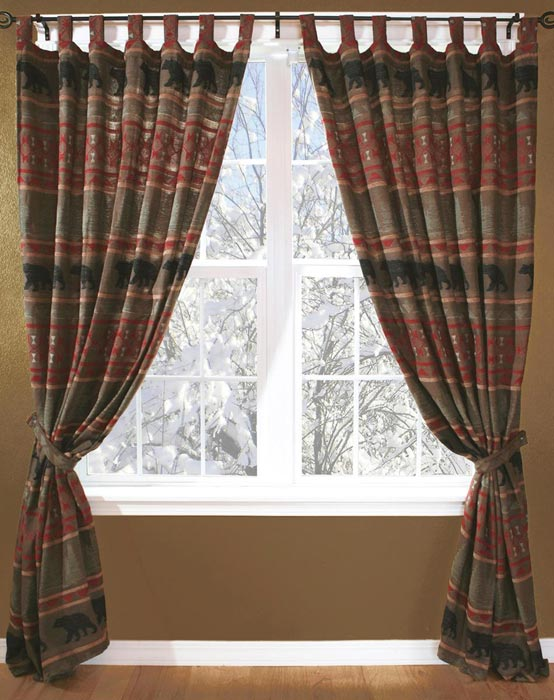 rustic-cabin-curtains-drapes
