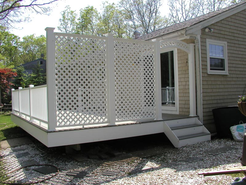 Deck lattice will upgrade your deck attractiveness and for Lattice for privacy on patio