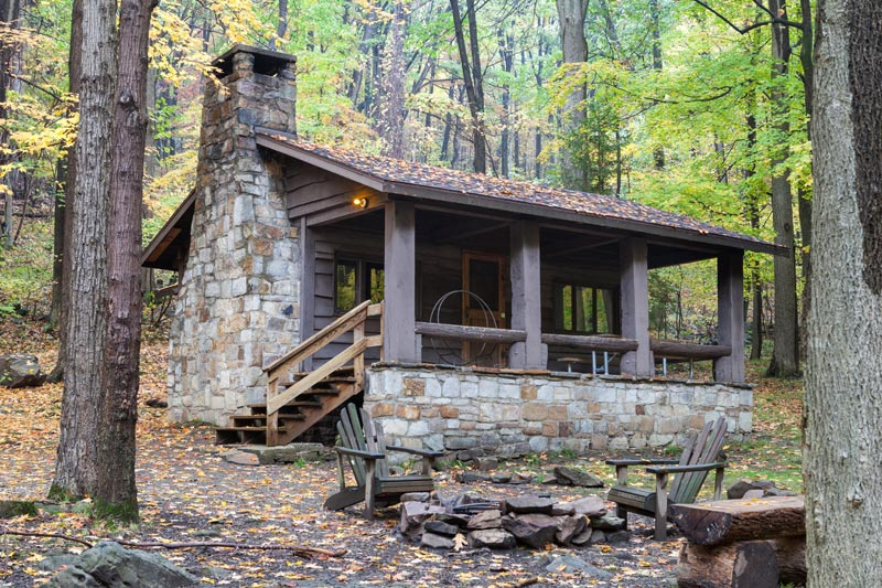 modern-cabins-in-pa-state-parks