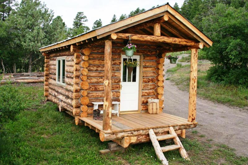Rustic cabin plans for enjoying your weekends away from the busy city landscape design - Rustic log house plans decor ...