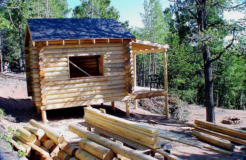 Small Cabins To Buildceace How To Build Small Log Cabin