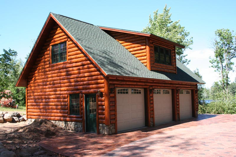 log-cabin-plans-with-garage