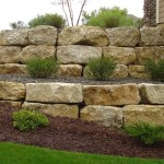 rock-wall-landscaping-ideas