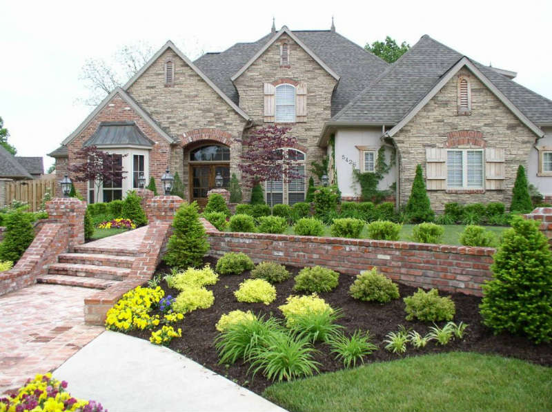 Front yard landscape ideas2