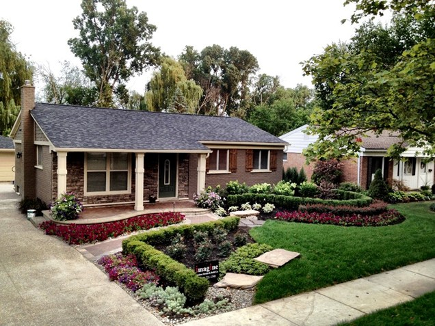 front yard landscape ideas for small homes