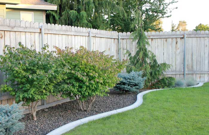 diy landscaping borders