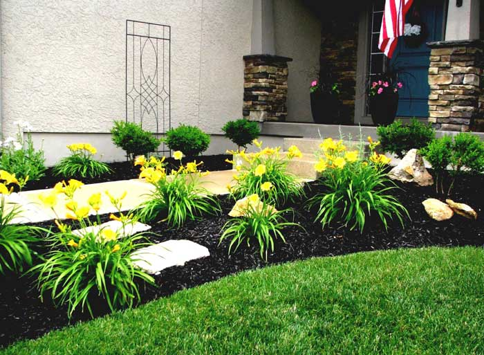 Landscape design for Easy garden design