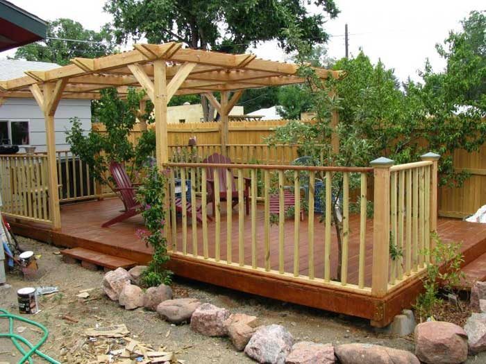 Floating deck plans effective project by diy network for Easy diy deck plans