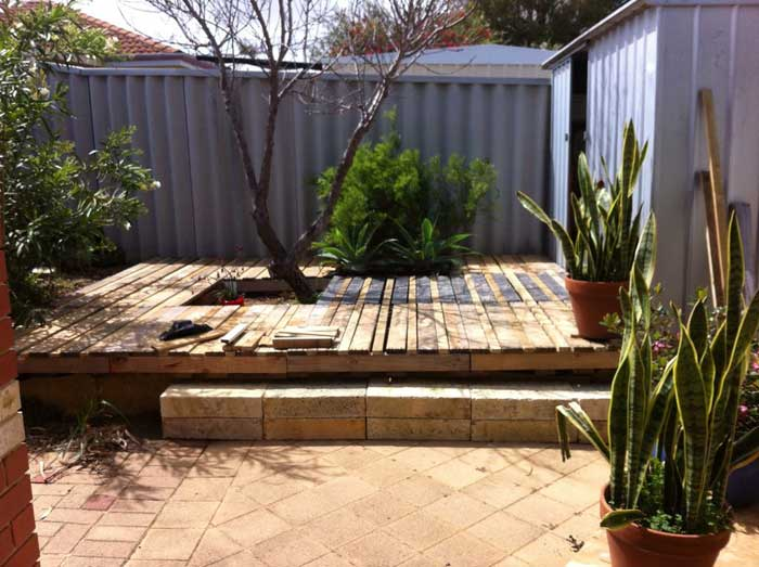 Floating Deck Plans Effective Project By Diy Network