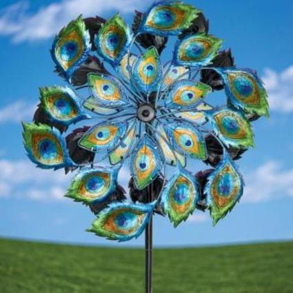 Favorite-decorative-garden-stakes-metal